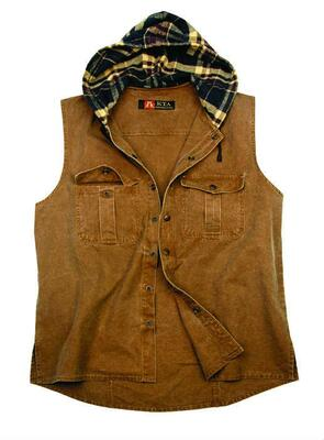 Vest - Tobacco Roston
