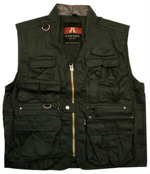 The Traveller vest - sort