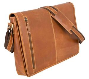Messenger Bag Atlanta - Cognac