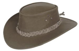 Ruskindshat - Chocolate Mossback Echuca Hat