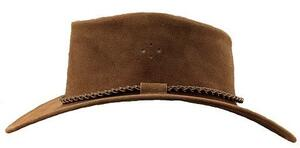 Queenslander hat - brun