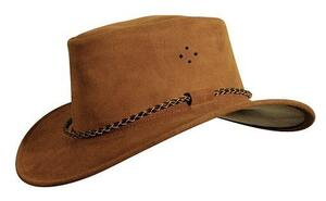 Queenslander hat - rust