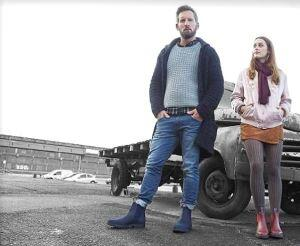 Meryl & Matt Boots - Blue/Navy