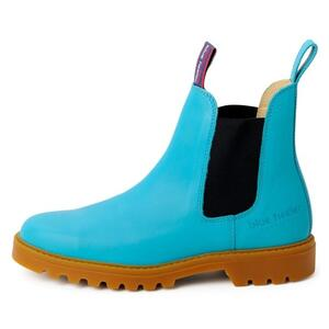 Emma Boots - Turquoise/Navy