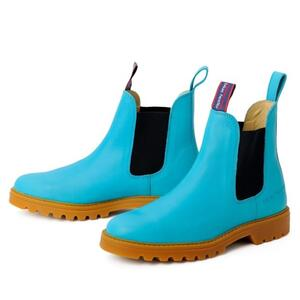Emma Boots - Turquoise/Navy, begge
