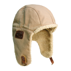 Baron aviator hat - Bone