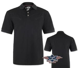 Gordan polo-shirt - Stars & Stripes