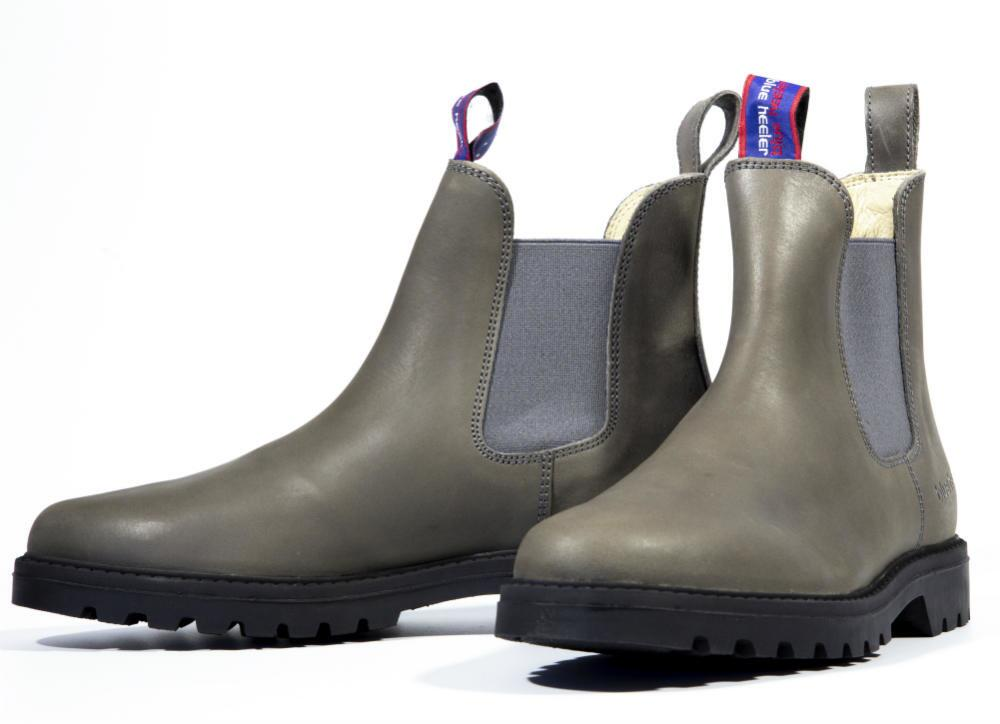 a581456c3444 Grå støvler - super flotte med Jackaroo med elastikside
