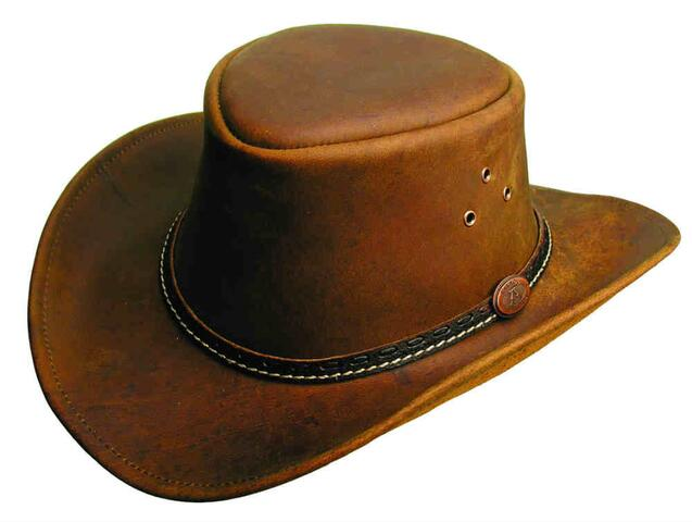 Coloongatta hat - tobacco
