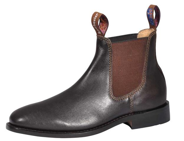 Chelsea boots - brun