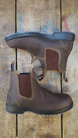 Outback Boots Nougat, begge