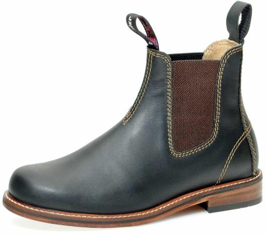Windsor City Boots Black