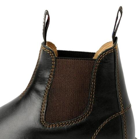 Windsor Boots Black, elastikside
