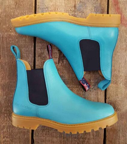 Emma Boots - Turquoise