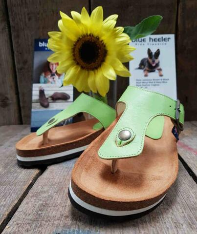 Apple Green Flip Flop