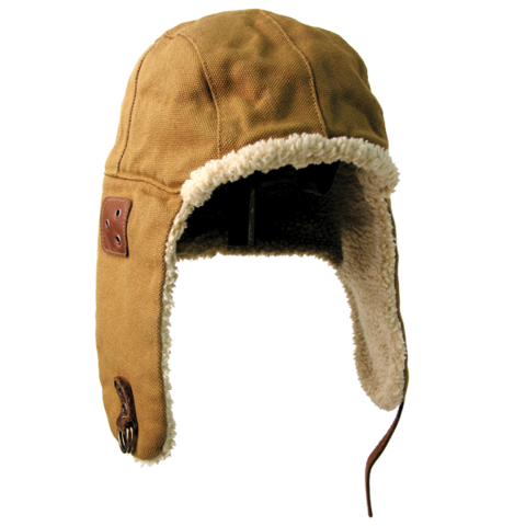 Baron aviator hat - Tobacco