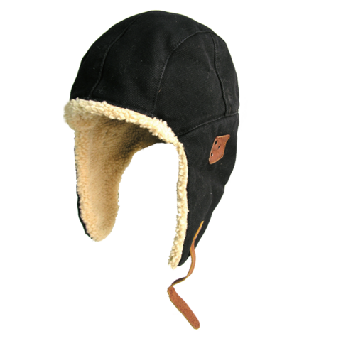 Baron aviator hat - Sort