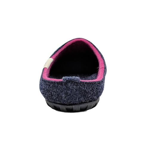 Outback Slipper - Navy & Pink bagfra
