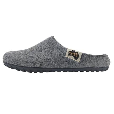 Outback Slipper Grey/Charcoal