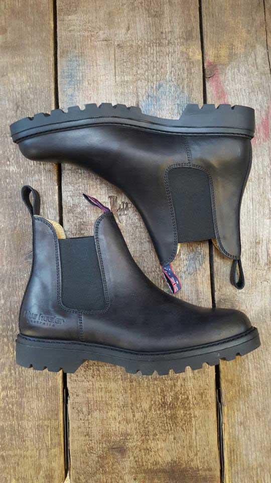 831d738643a Sorte støvletter med elastikside - Blue Heeler Boots - Black Jackeroo