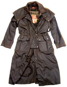 Oilskin - Traditional Drover Overcoat