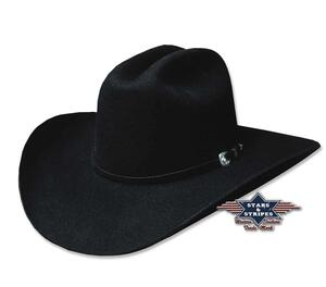 Appaloosa hat, sort, 100% uldfilt