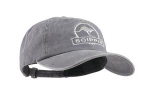 Scippis Canvas Cap, kangaroo, grey