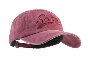 Scippis Canvas Cap, burgundy