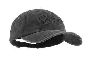 Scippis Canvas Cap, black